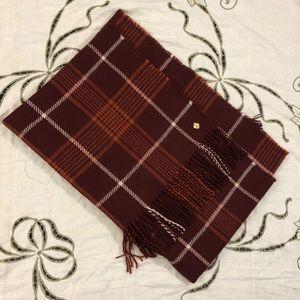 Ann Klein Plaid Blanket Scarf